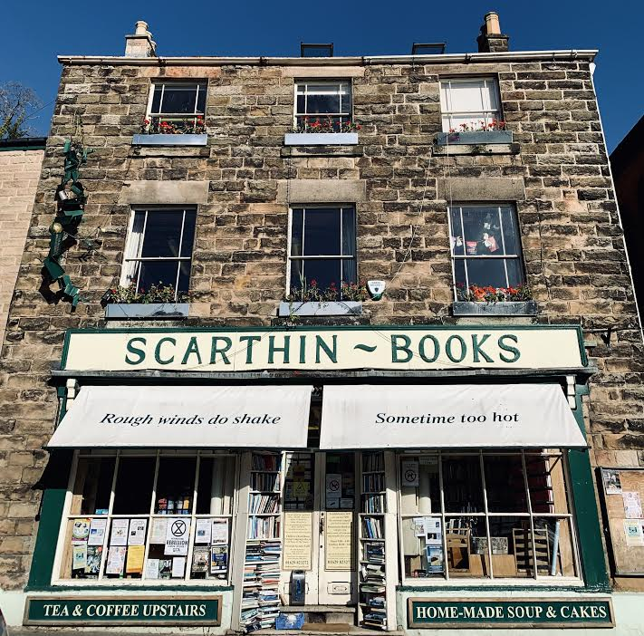 Independent Bookshops Scarthin Books outside