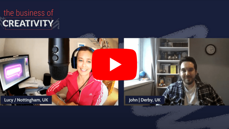 Business of Creativity Podcast Thumbnail