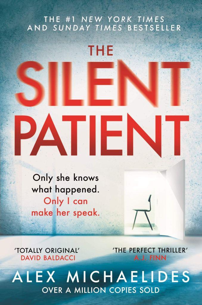 The Silent Patient Alex Michaelides Book Cover