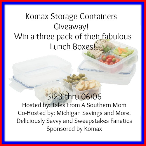 Hosted by Tales From A Southern Mom  sc 1 st  Southern Mommau0027s & Komax Storage Containers Giveaway u2013 Southern Mommau0027s