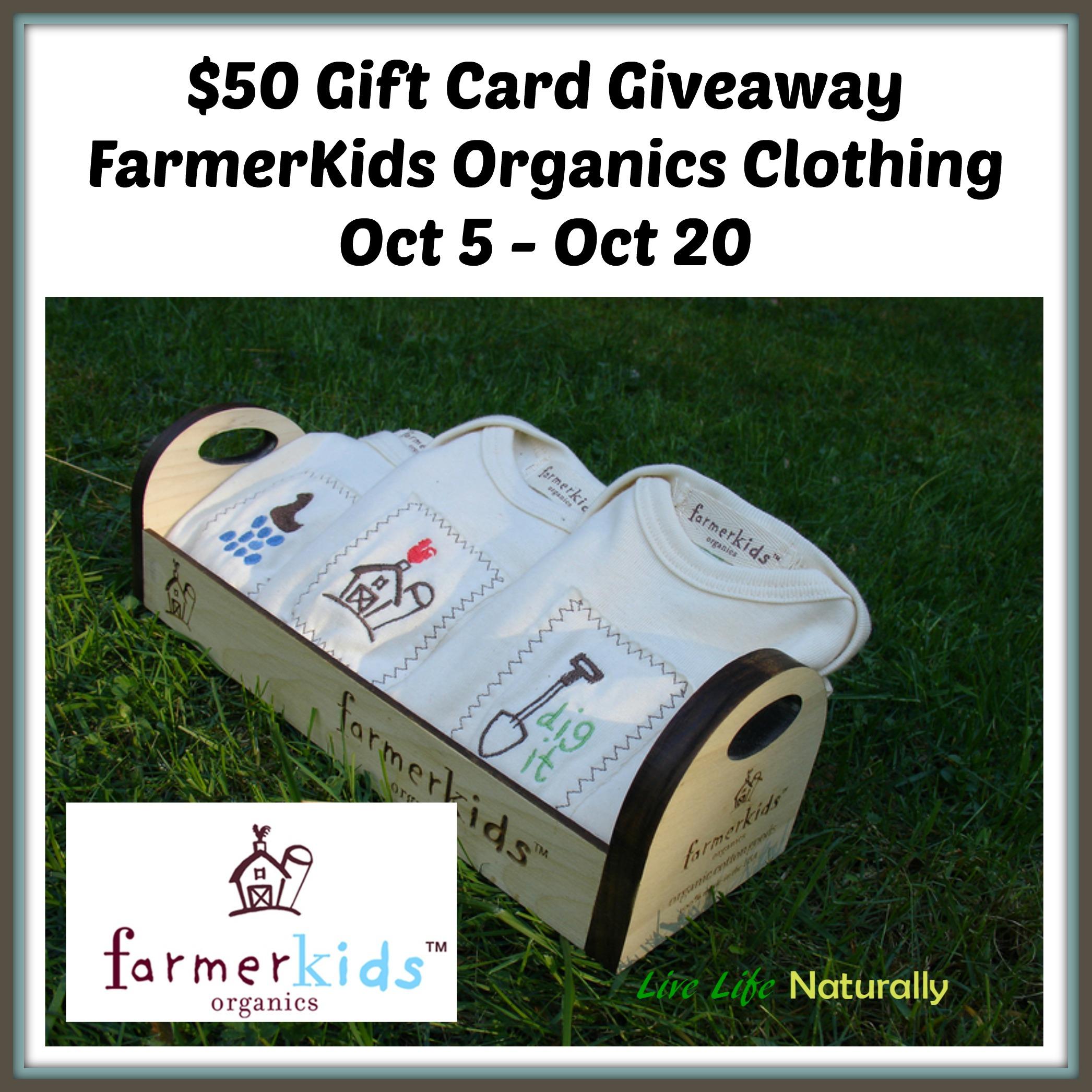farmerkids giveaway organic nontoxic fashion kids clothing