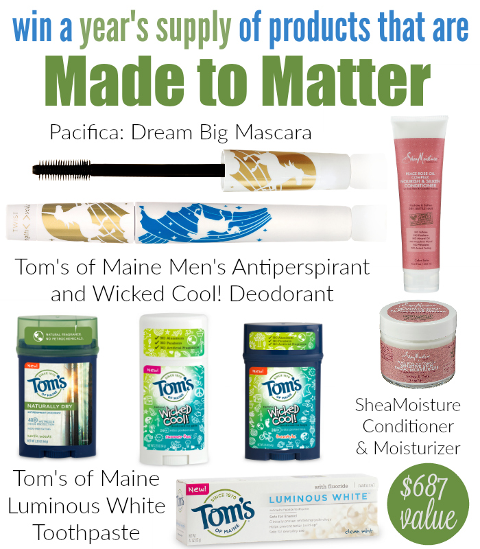 Toms of Maine Group Giveaway