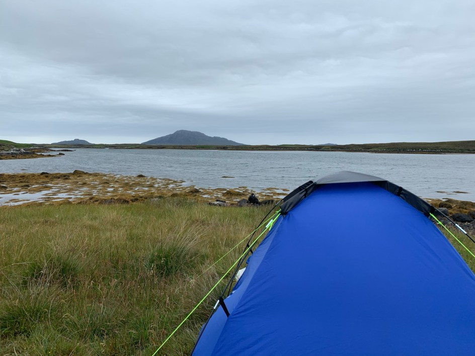 Tales from a tent feature of wild camping