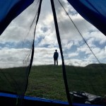 Exploring and wild camping in the Outer Hebrides