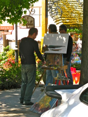 Artist have lots to paint