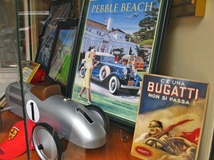 Local shop keepers stage window displays to celebrate
