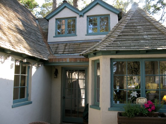 Curtin Call built by Hugh Comstock- On Carmel's Historic Register of Homes