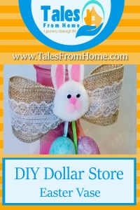 Dollar Store Easter Vase Craft
