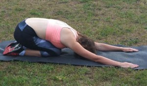 Childs pose yoga for beginners