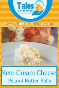 Cream cheese peanut butter balls