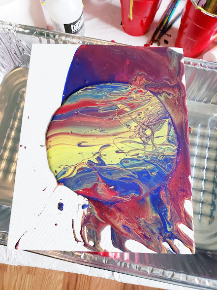 acrylic pouring flip cup