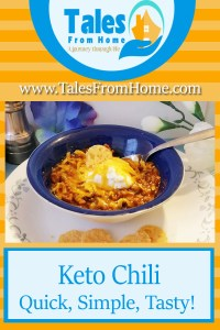 Keto Chili. Perfect for a Keto way of life