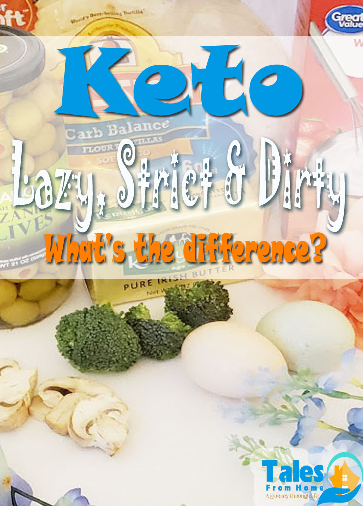 Lazy, Strict, Dirty? Are you just starting out and a bit confused about the terms? Wondering whats best for you? Here's some help! #keto #startingketo #ketobeginner #keoinfo #ketolazy #ketodirty #ketostrict #ketodiet #lowcarb #lchf