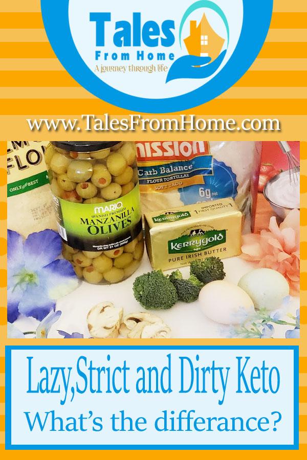 lazy strict dirty keto ingredients