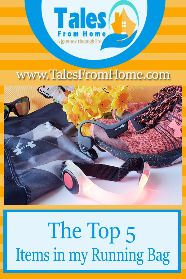 Running tips - The top 5 items in my running bag.