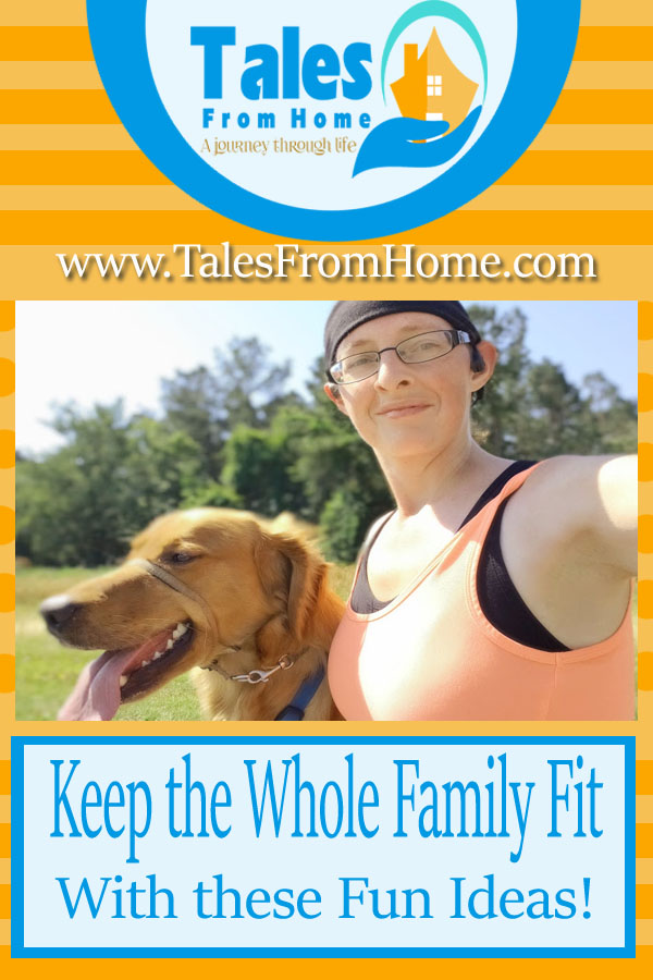 Keep the whole #family #fit with these #fun Ideas!
