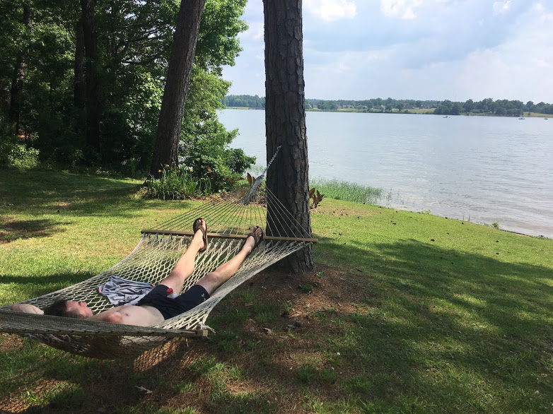 relax in a hammock, summer of almost free fun