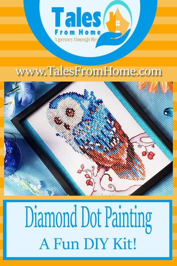 Diamond Dot Painting A Fun new DIY Project! #Crafting #Crafts #art #DIY #Artwork