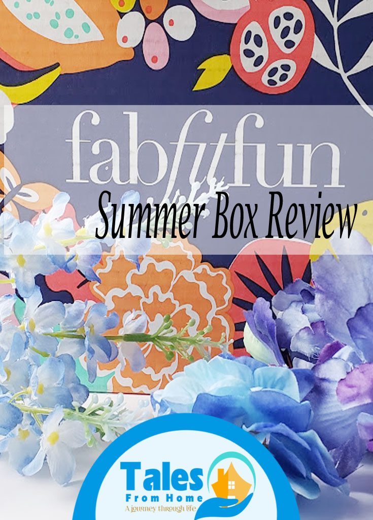 fabfitfun summer box review #fabfitfun #fabfiftfunPartner #subscriptionbox #subscription #women #fun