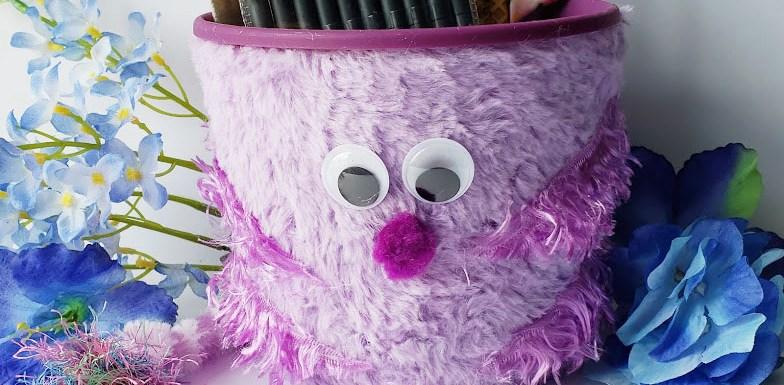 the fuzz monster desk organizer