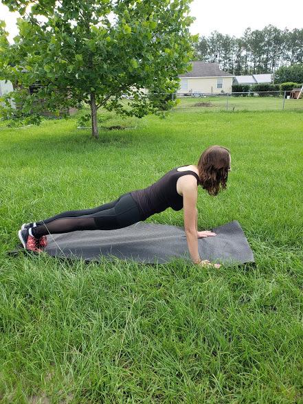 upper body yoga poses - plank pose