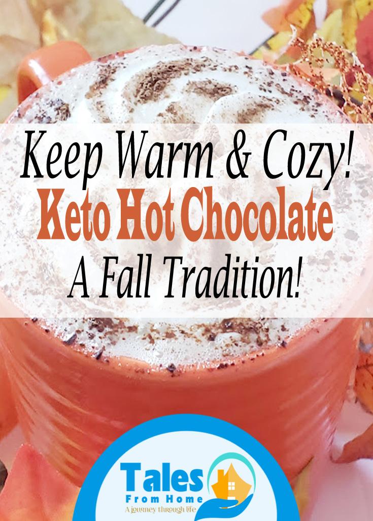 Keto Hot Chocolate #keto #ketorecipe #ketodessert #fallrecipe #hotchooclate #lchf #ketolife