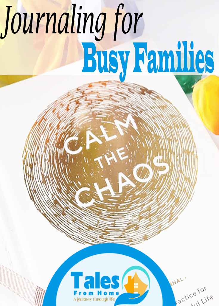 Journaling for Busy Families. It can be done with ease! #journaling #planning #family #sahm #organization #selfcare