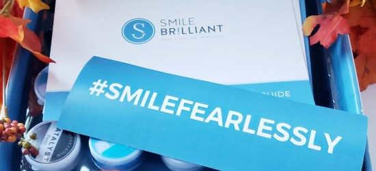 teeth whitening try kit from smile brilliant