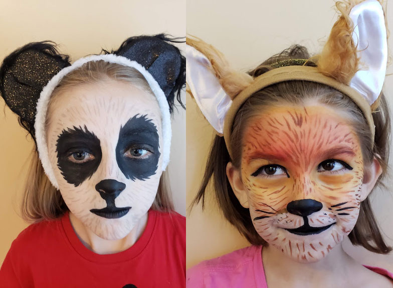 face painting tips add on the finishing touches