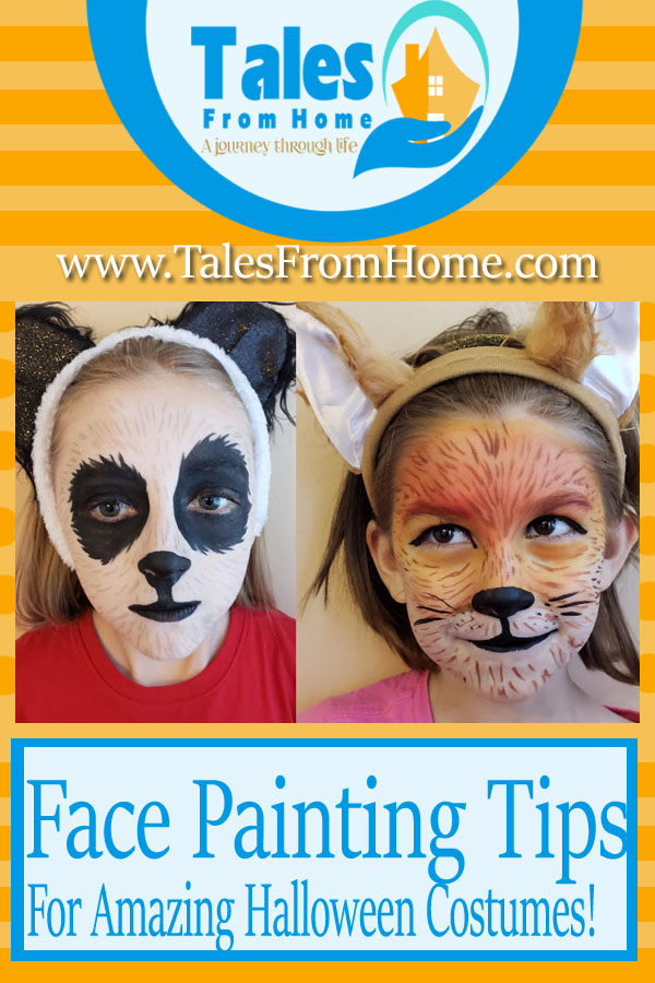 Face Painting Tips for amazing Halloween costumes! #facepainting #facepaint #halloween #facepaintingtips #paintingtips #halloweencostumes #halloweentips #partytips #children #kids #holidays #DIY #DIYcostumes