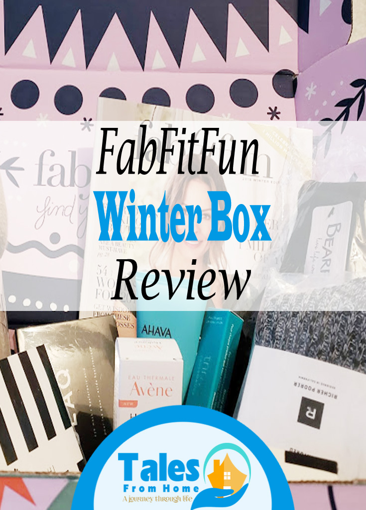 FabFitFun winter Box Review #fabfitfun #fabfitfunpartner #subscriptionbox #productreview