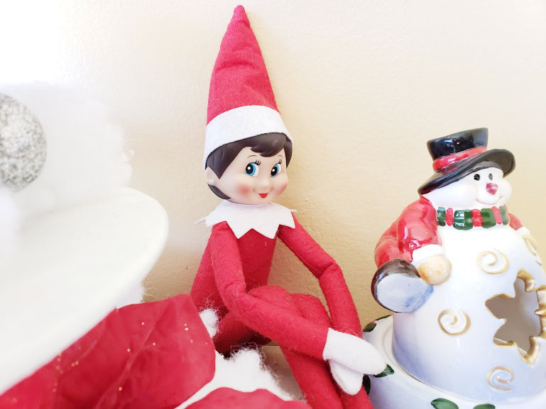 Family christmas traditions - Elf on a self