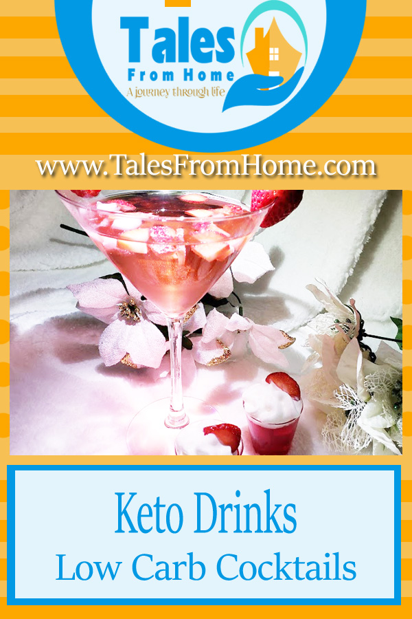 Keto Drinks, Cocktails for the Low Carb Life #keto #ketodrinks #ketorecipes Ketogenic #lchf #lowcarb