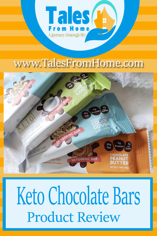 Keto Chocolate Bars from Kiss My Keto - Tales From Home