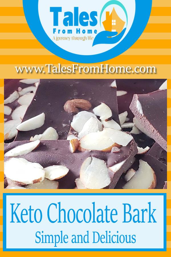 Keto Chocolate Bark A simple and Delicious Dessert #Keto #Ketorecipe #ketogenic # Ketodiet #Ketodessert #ketochocolate #lowcarb #lchf