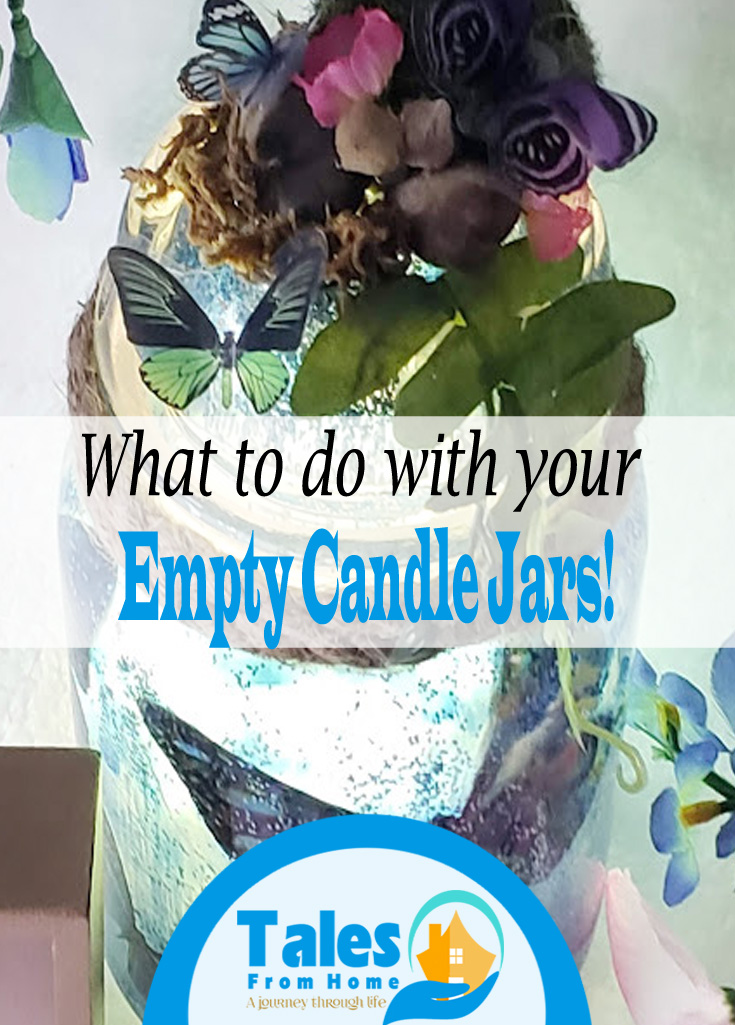 What to do with your empty candle jars! #goosecreekcandles #scentedcandles @crafts #DIY #homedecor #homedecoration