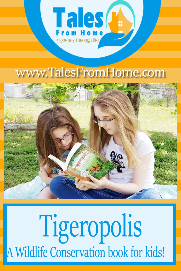 Tigeropolis, a story that teaches wildlife conservation for kids #kids #family #reading #kidsbooks #books