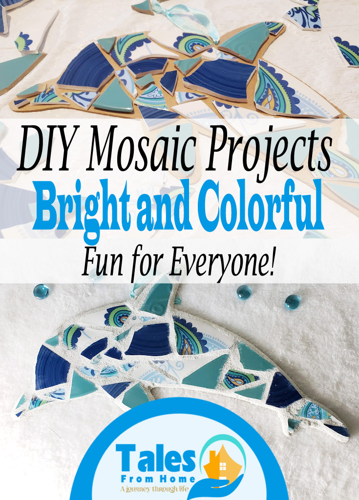 DIY Mosaic Projects #DIY #crafting #Mosaics #Crafttutorials #Tutorial #Trysomethingnew #hobby #art #Homedecor #wallhanging