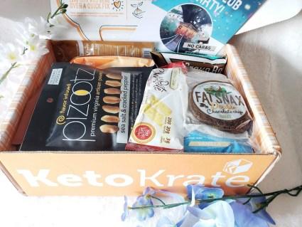 Keto Krate May box. A review.