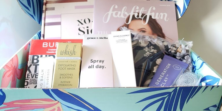 2019 Summer Box Review from FabFitFun