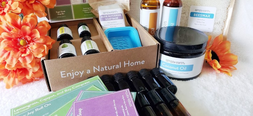 DIY soap making recipe box from Simply Earth