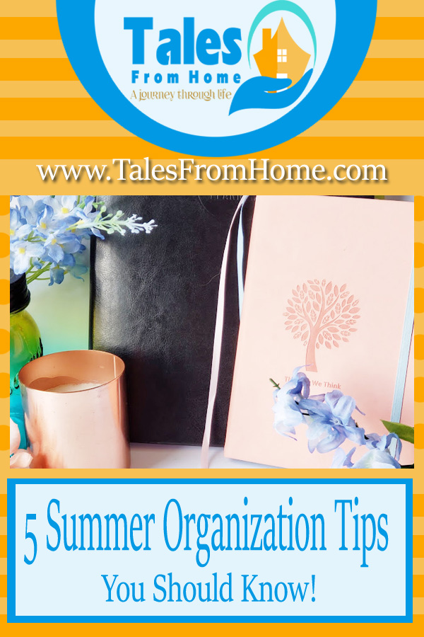 Summer Organization Tips for the Summer #home #organize #organization #family #summer