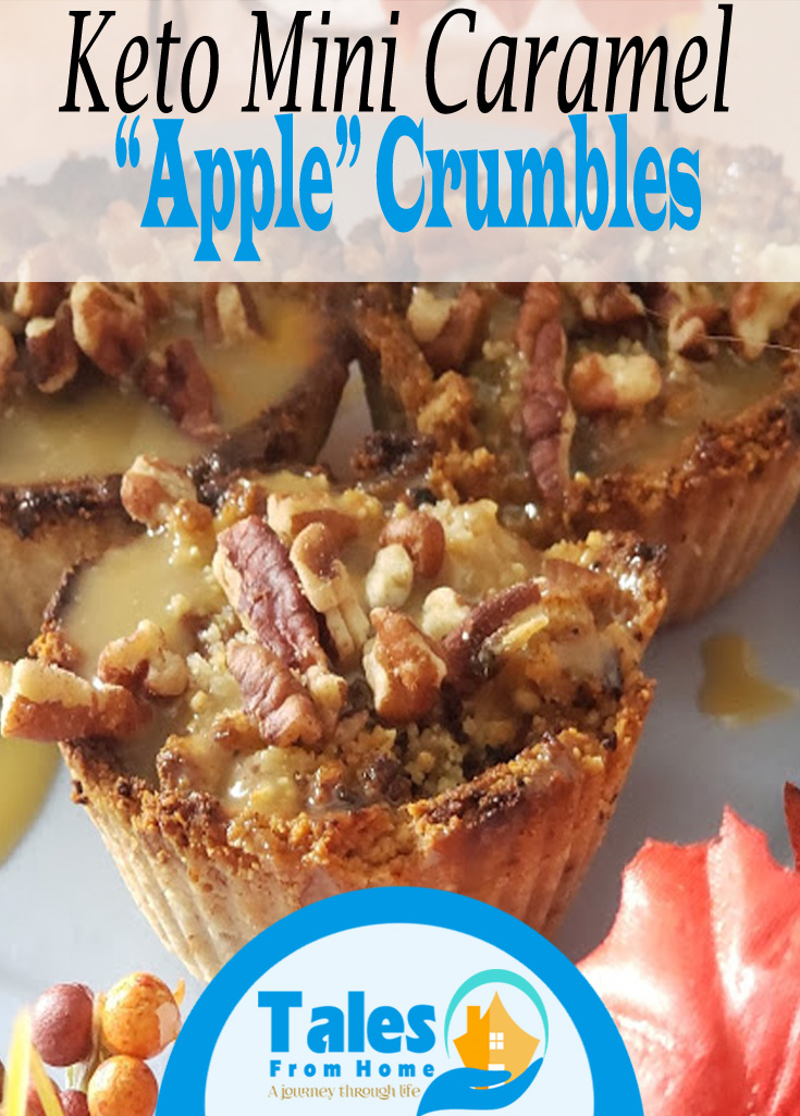 "Keto Mini Caramel ""Apple""Crumble! #Keto #ketodesserts #ketorecpes #ketolife #ketolifestyle #ketowoe"