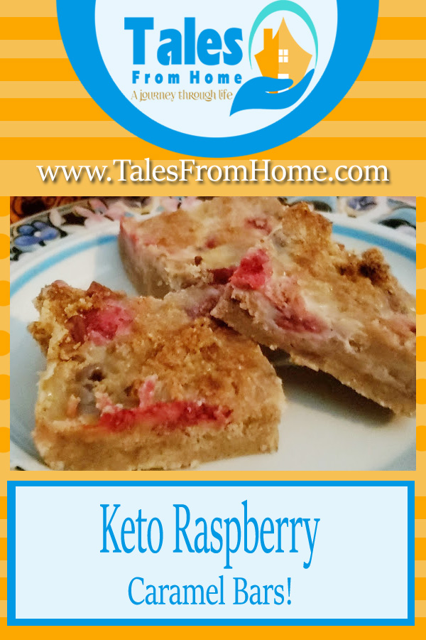 Keto Raspberry Caramel Bars, A Delicious treat for Everyone! #Keto #ketogenic #Ketorecipe #Ketotreat #ketodessert #recipe #dessert #raspberry #caramel