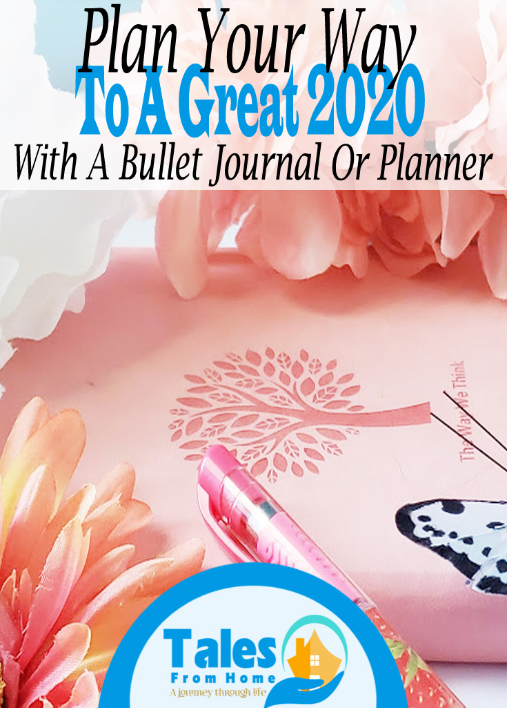 Plan Your Way To A Great 2020! #newyears #newyear #journaling #planning #BUJO #bulletjournal