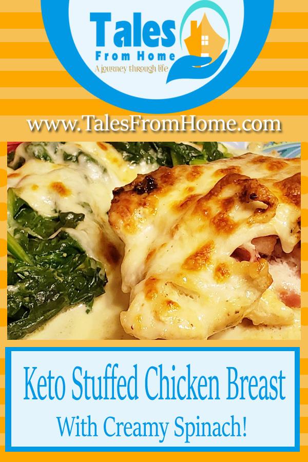 Keto Stuffed Chicken Beasts with Creamy Spinach! #chicken #chickenrecipe #spinach #keto #lchf #ketorecipe#ketodinner #dinnerecipes #lowcarb