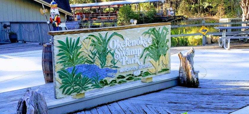 Visiting the Okefenokee Swamp Park