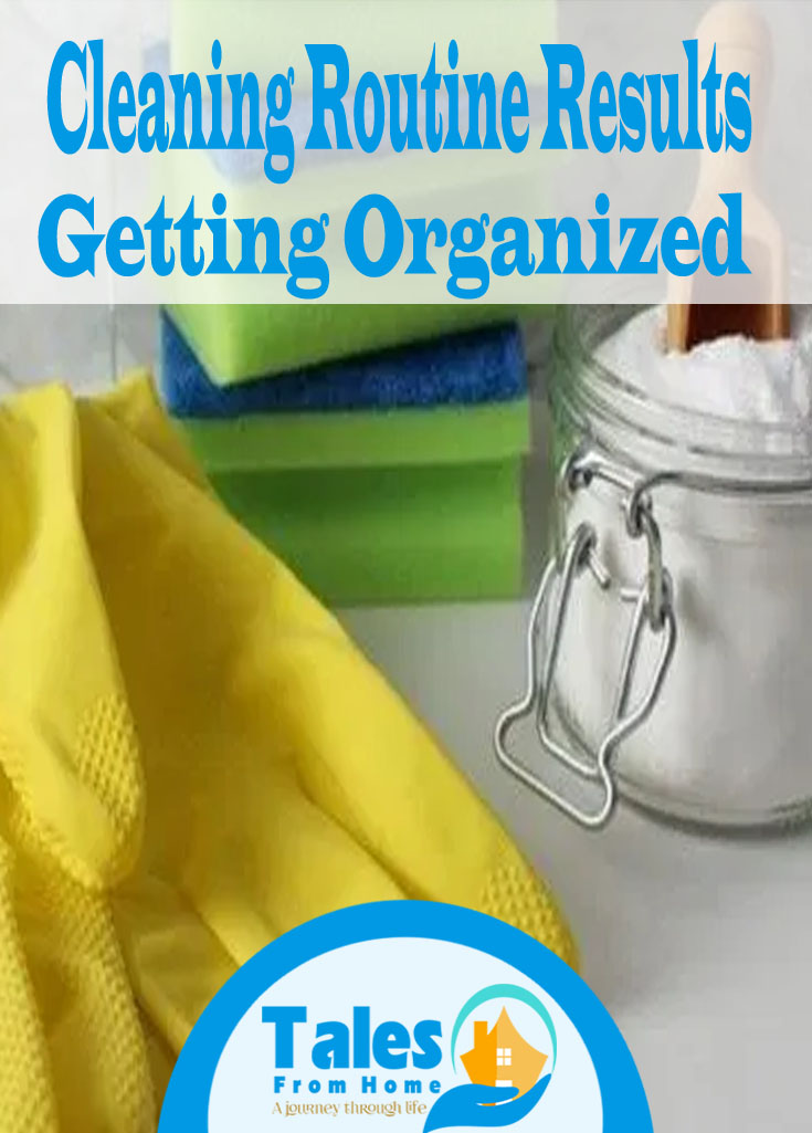 Do cleaning routines work? I tried one for 30 days and here are my thoughts on the process! #cleaningroutines #cleaning #clean #home #homeroutine #gettingorganized #organization