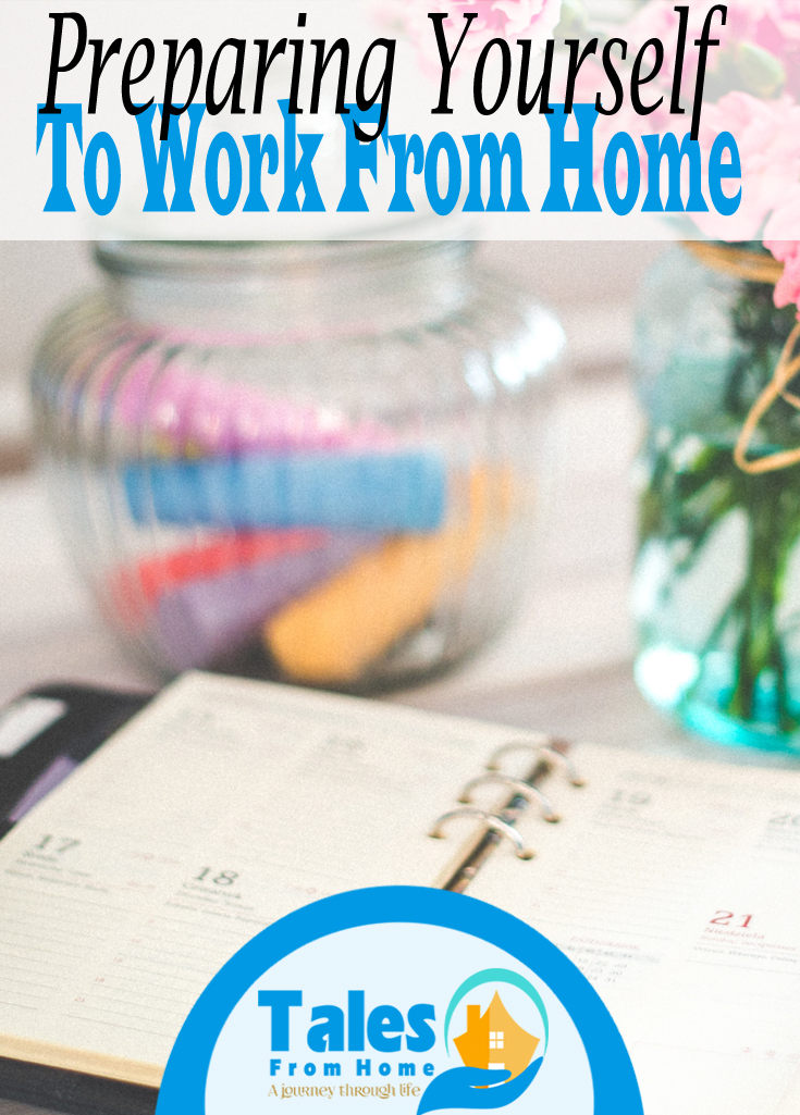 3 Tips to Help Prepare Yourself from Working From Home! #workfromhome #homeoffice #organization #work #home