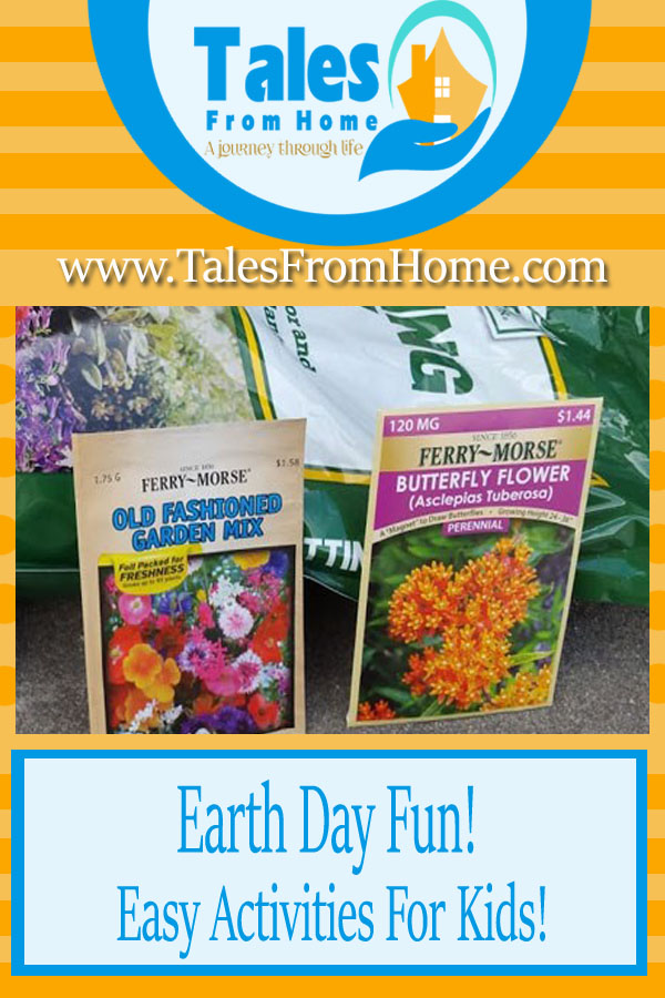 A Fun and Simple Earth Day Activities for Kids and Families! #Earthday #kids #families #outdooractivities #outdoorfun #learning #funforkids